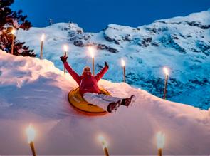 Final de año en la nieve